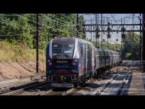 Siemens Charger SC-44 being tested along the Northeast Corridor