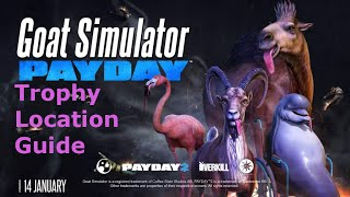 Goat Simulator PAYDAY: Trophy Location Guide - The Big Score Achievement