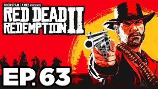 Red Dead Redemption 2 Ep.63 - KIDNAPPED BY COLM O'DRISCOLL, ALLIGATOR PHOTOS!! (Gameplay Let's Play)