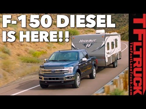 Breaking News:  Ford F Diesel Power Specs, MPG, Pricing Revealed!