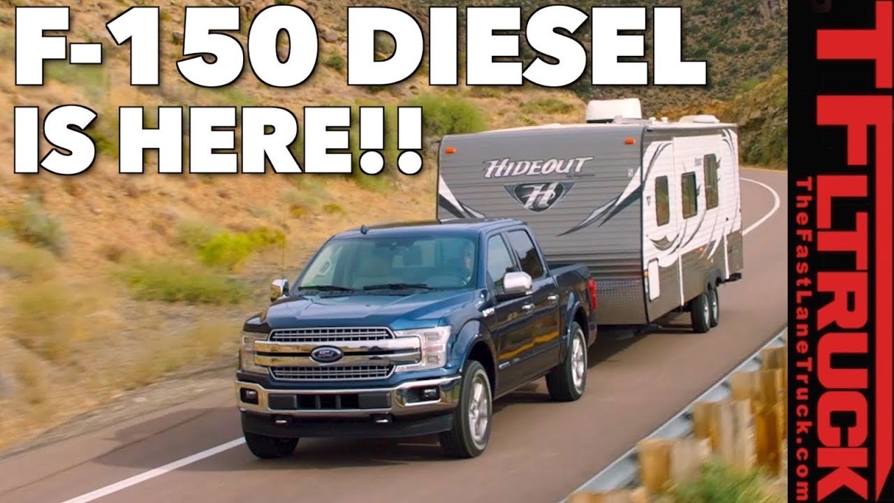 Breaking news 2018 ford f150 diesel power specs mpg pricing revealed
