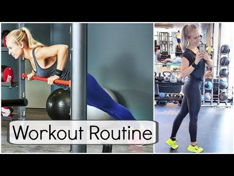 Mijn Fitness Workout Routine – Wat ik doe in een week!