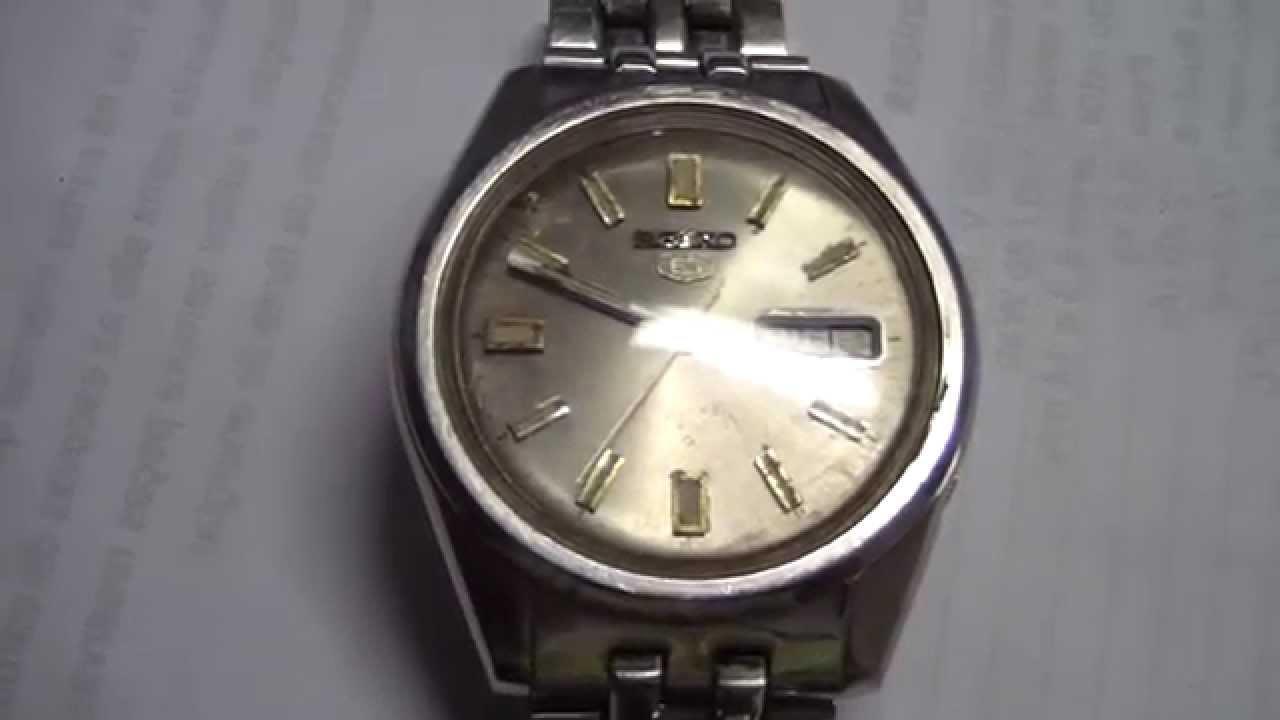 53608d0558d Relógio Seiko 5 6119-8083 Automático Antigo Coleção Japan - YouTube