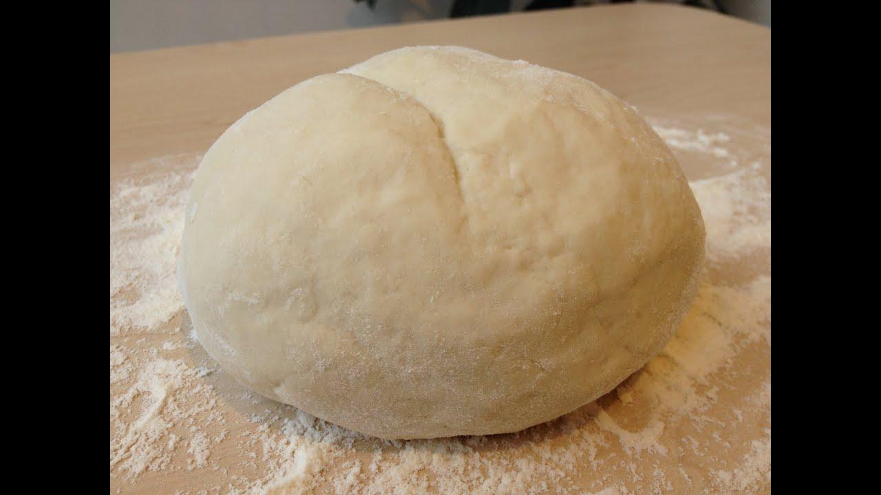 Как сделать тесто простое