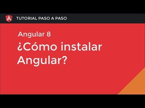 ¿Cómo instalar Angular 8? thumbnail