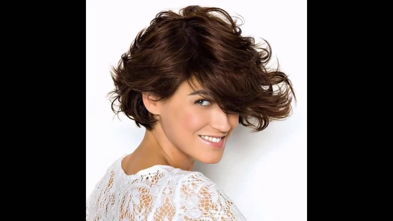 peinados para cabello corto liso rozado y ondulado