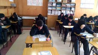 Ensayo Psu alumnos del Liceo Rodulfo Amando Philippi