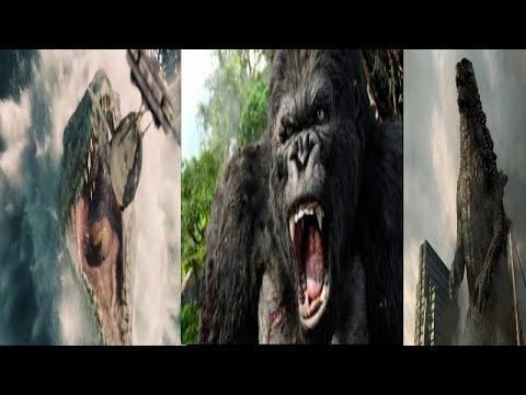 Mosasaurus vs King Kong vs Godzilla (HD) - YouTube