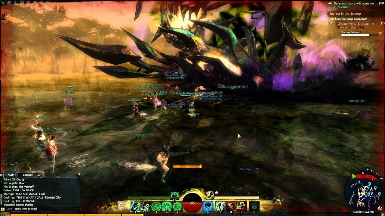 guild wars 2 teleport to friend