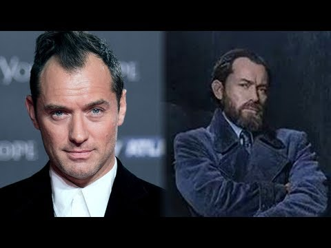 Jude Law ADDRESSES Dumbledore's Sexuality in 'tastic Beasts' For The First Time