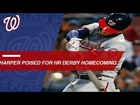 Harper, Nationals fans ready for 2018 Home Run Derby