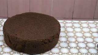 Шоколадный бисквит ,,Перфект,,с сметанно вишнёвым кремом