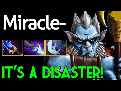 Miracle- [Phantom Lancer] It's a Disaster Dota 2 7.05