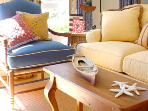 Cottage home coastal cottage style furniture youtube for Cottage type furniture