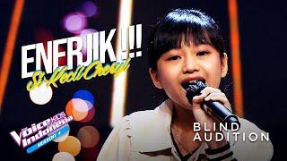 Cheryl Xaviera - Seven Rings | Blind Auditions | The Voice Kids Indonesia Season 4 GTV 2021
