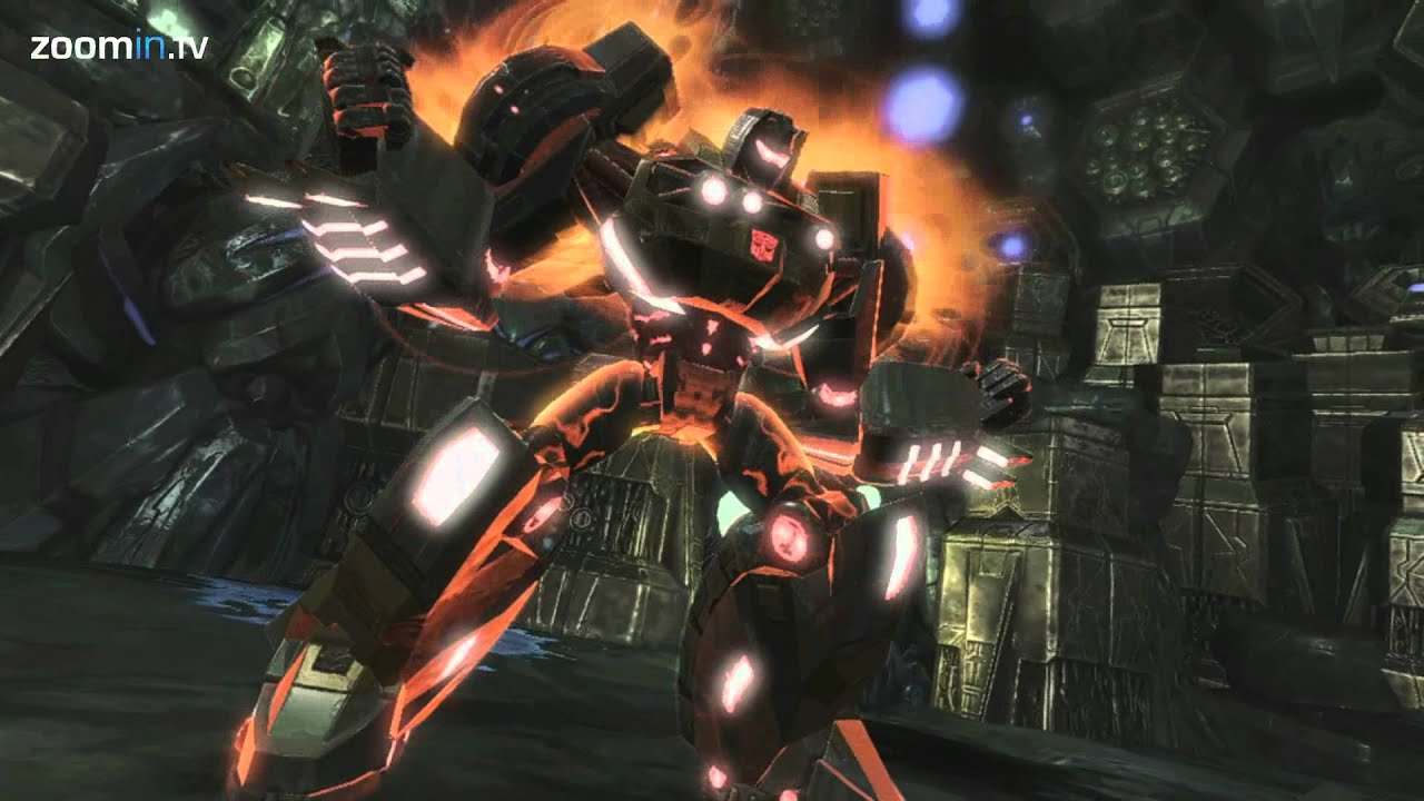 Transformers Fall Of Cybertron Wallpaper Hd Grimlock Smash Finding The Dino Bots With Grimlock In
