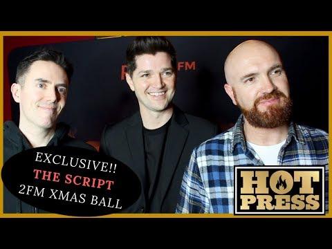 Hot Press Exclusive: THE SCRIPT 2FM XMAS BALL!
