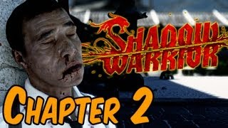 Shadow Warrior 2013 Walkthrough - Chapter 2 The Party Bus Gameplay HD