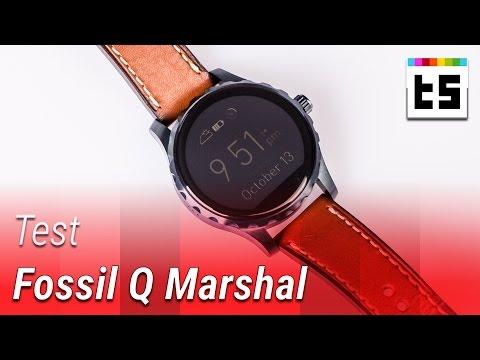 Fossil Q Marshal: Android Wear mit einem Makel – Test (deutsch)