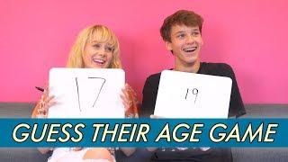 DeVore Ledridge vs. Oscar Rosenstroem - Guess Their Age