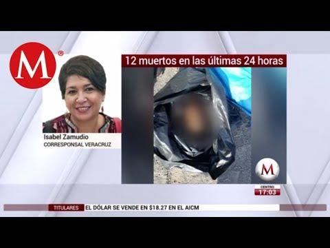 Jornada violenta en Veracruz