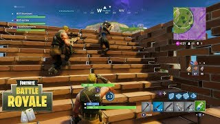 Played with cheap weapons All game-Fortnite Battle Royale