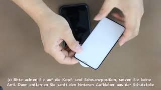 3D Glass Schutzfolie Installationsanleitung 8.27