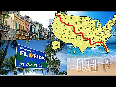 Tasha Takes Florida: Driving from Louisiana to Florida!