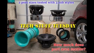 How much does port area matter? - Tech Stuff Tuesday