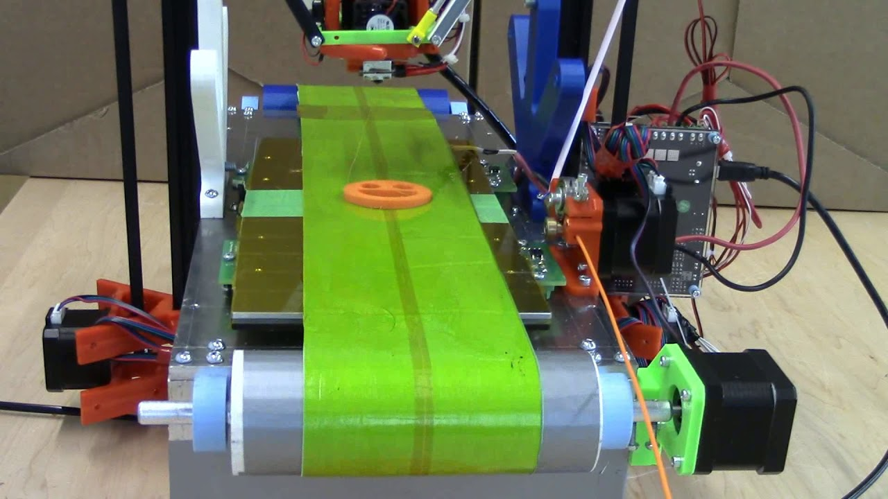 Automatic Infinite 3D Printer | Hackaday io