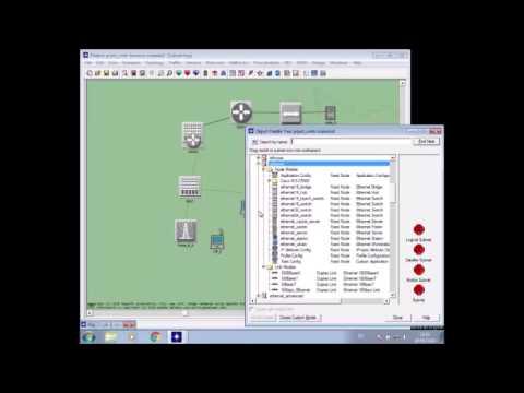 Simulación y Configuración UMTS(3g) en OpNet