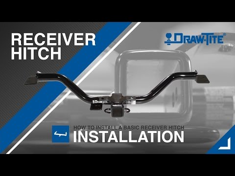 How to Install a Receiver (Trailer) Hitch - Draw•Tite®