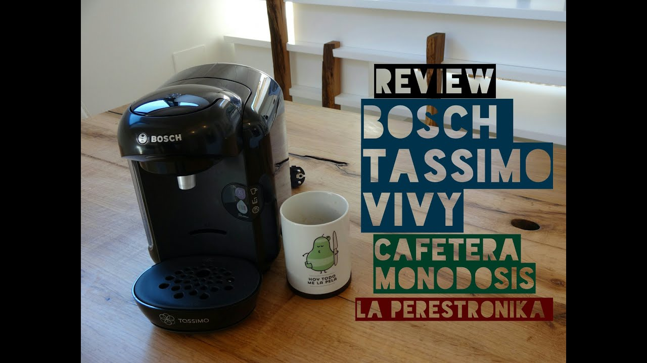 review cafetera bosch tassimo vivy la cafetera monodosis con mejor relaci n calidad precio. Black Bedroom Furniture Sets. Home Design Ideas