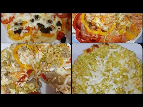 صورة  طريقة عمل البيتزا طريقة عمل البيتزا بكل سهوله 🍕 طريقة عمل البيتزا من يوتيوب