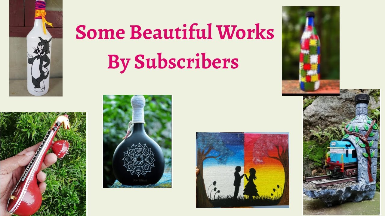 Some Beautiful Works By Subscribers #CreativeHutMalayalam