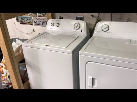 Fixing my Amana Washing Machine For Free Loud Noise On Spin Cycle