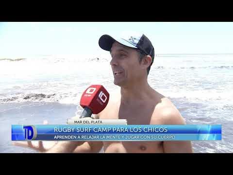 Rugby surf camp para los chicos