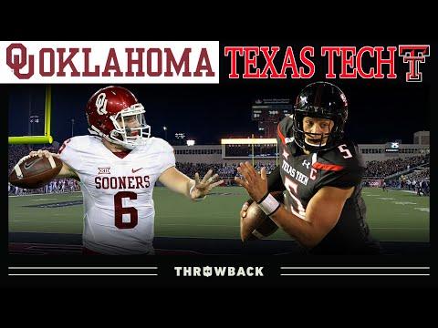 Baker vs. Mahomes: The GREATEST College QB Duel Ever! (Oklahoma vs. Texas Tech, 2016)
