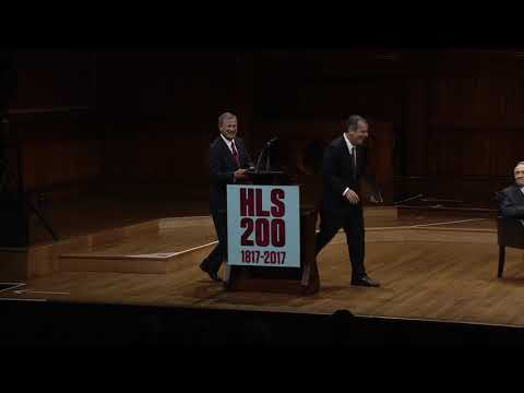 HLS in the World (Opening Ceremony): Introduction of Justices and Remarks by Chief Justice Roberts