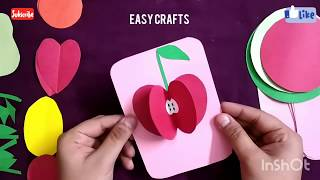 DIY 3D Fruits with paper