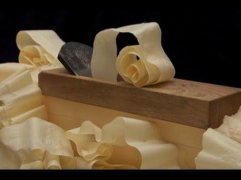 Woodworking, Japanese Hand Plane, Unbelievable Shavings!