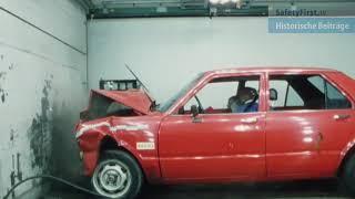 Crashtest Toyota Tercel im Allianz Zentrum für Technik