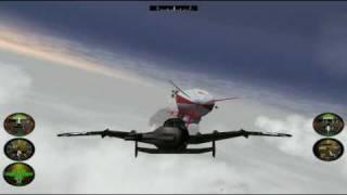 Crimson Skies Playthrough (PC) Mission 6 HARDEST mode (The Red Menace)