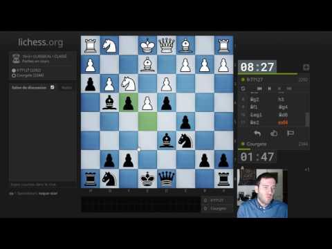 #13Noirs 25-01-2017 : 1.e4 : Anti Scandinave avec 2.Cc3-d4 3.Ce2 (GM Igor Nataf)