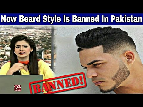 This Is New Pakistan Now Beard Style Is Banned In Pakistan Youtube