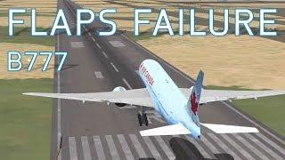 Fsx emirates 777 smooth landing