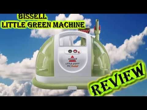 BISSELL Little Green ProHeat Portable Carpet And Upholstery Cleaner (REVIEW)