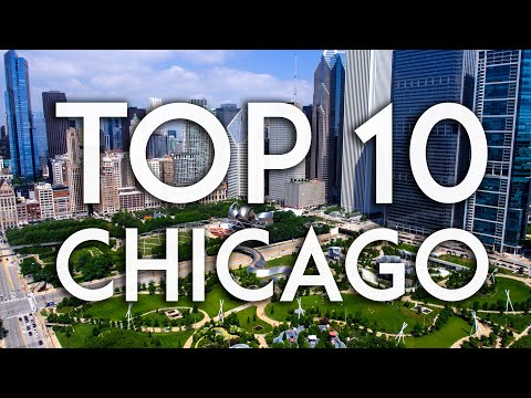 TOP 10 things to do in CHICAGO | Travel Guide