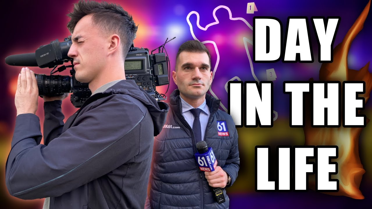 A Day In The Life Of A News Cameraman