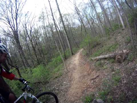 New Harmony State Park Mountain Biking 3/28/12